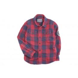 Petrol Blouse / overhemd / tuniek - lange mouw